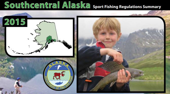 Alaska Kids Sport Fishing Cover Photo Contest