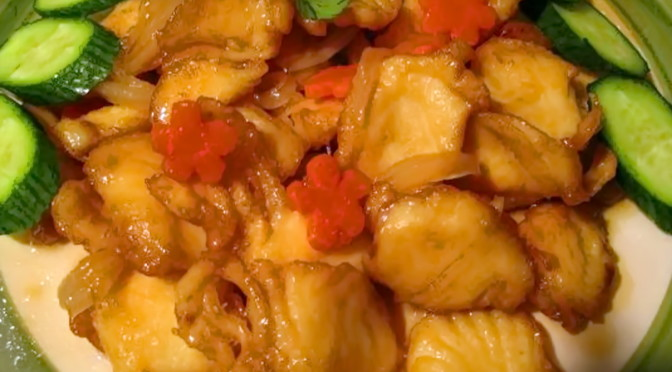 Sweet and Sour Halibut Recipe