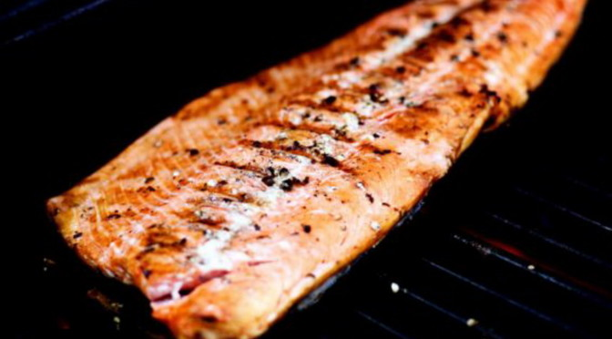 Simply Grilled Wild Salmon Recipe